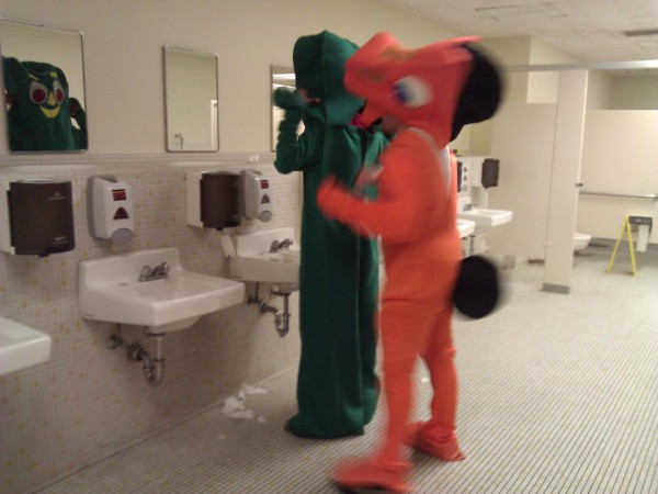 Gumby And Pokey Costume Gumby And Pokey 5